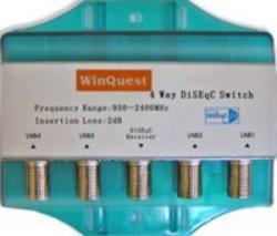 WinQuest Diseqc 4x1 коммутатор в кожухе